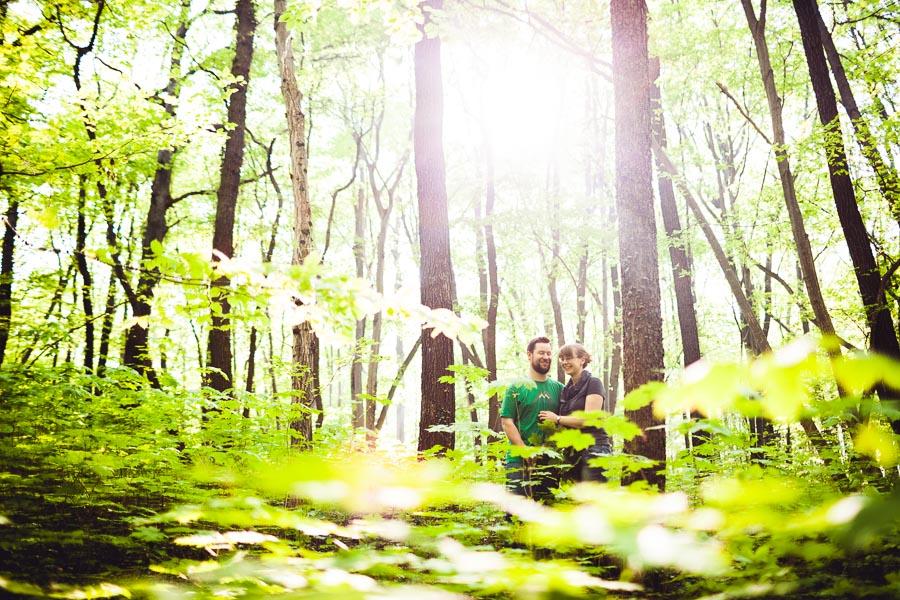 Paarfoto im Wald Fotograf Jena Steffen Walther