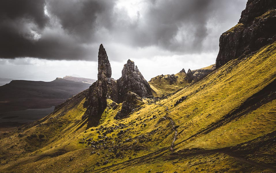 Fotograf Jena thüringen, Old man of Storr, Scotland, Skye, reisefotolust