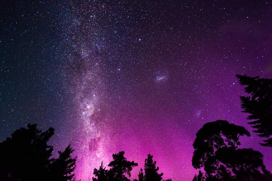 Reisefotografie Aurora Australis polarlichter milchstraße