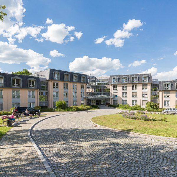 Werbefotos für Klinik an der Weißenburg - Architekturfotograf Jena Thüringen