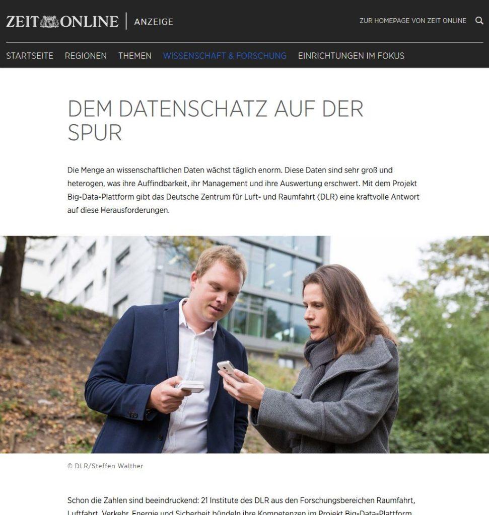 Fotoreportage Zeit Online, DLR, Werbefotograf Jena Thüringen, Steffen Walther