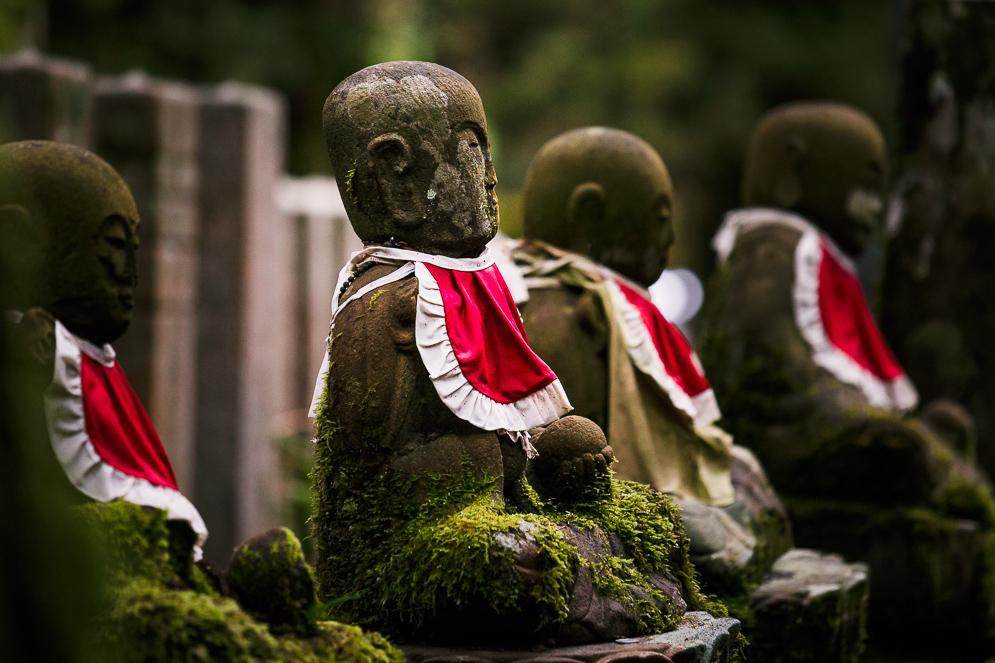 Momiji Japan im Herbst, Reisefotografie, koyasan, Okunin